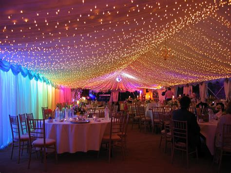 what can you use for wedding lighting light decorating ideas