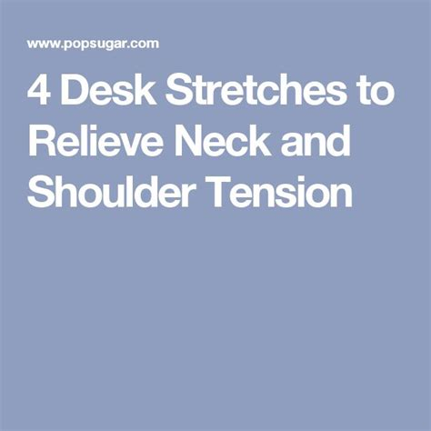 Desk Stretches For Neck And Shoulders by 1000 Ideas About Stiff Shoulder On Iyengar