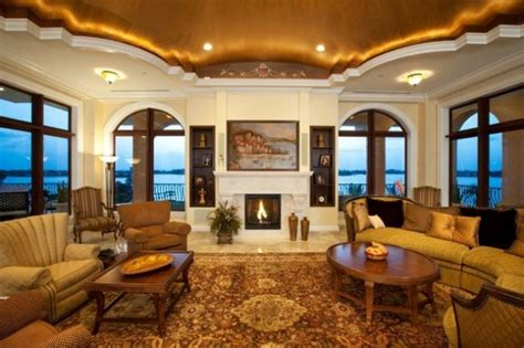 exceptionally luxury mediterranean living room designs