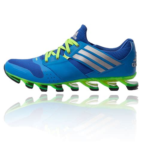 sports shoes with heels adidas springblade solyce mens blue running road sports