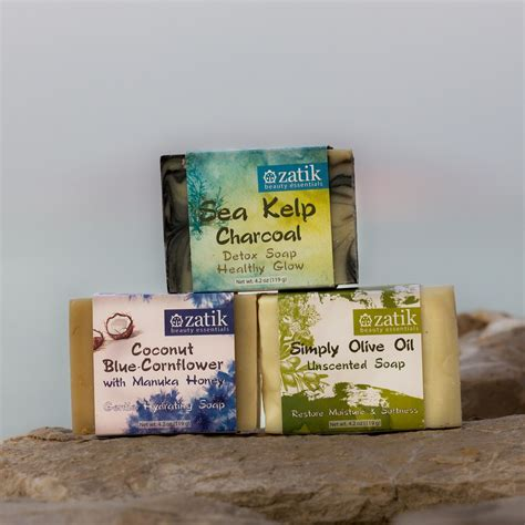 Detox Soap by Zatik Detox Moisturizing Soap Bundle