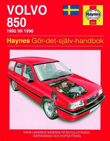 car repair manuals download 1996 volvo 850 spare parts catalogs haynes reparationshandbok volvo 850 universal 299 kr skruvat no 20114 oe sv3213