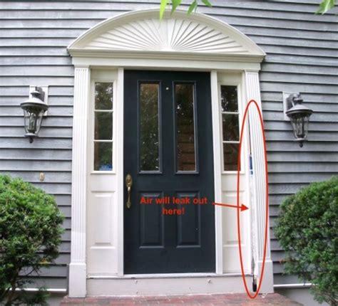drafty door drafty door we can help provia