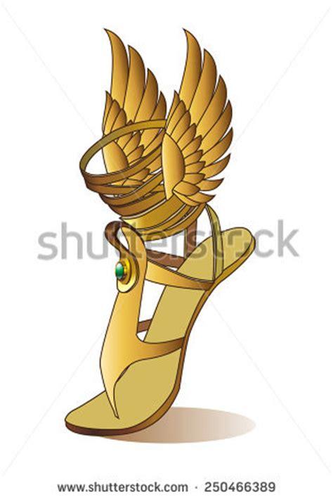 Winged Sandals Hermes Greek God Symbols