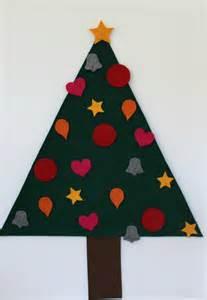 kinder weihnachtsbaum aus filz zum selber schm 195 188 cken