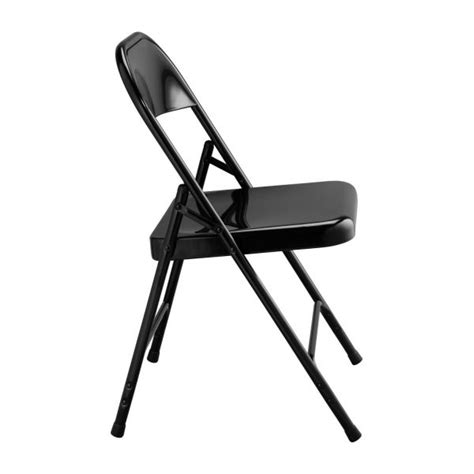 Macadam Chair by Macadam Folding And Accent Chairs Black Metal Habitat