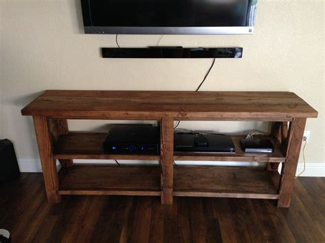 rustic x console table white rustic x console table diy projects