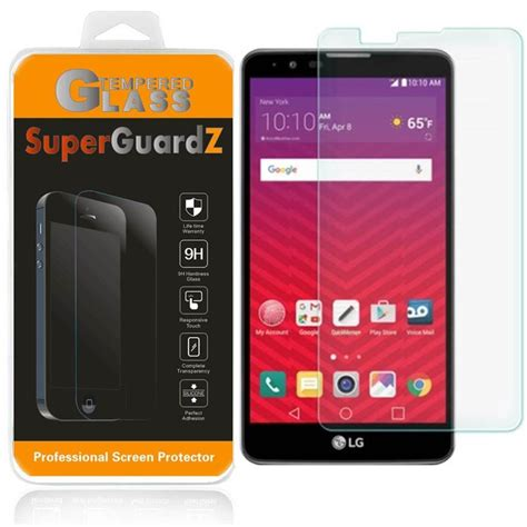 Lg G3 Stylus Tempered Glass Thebest Original superguardz 174 tempered glass screen protector guard shield for lg stylus 2 plus ebay