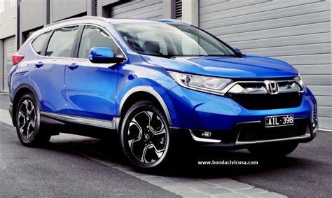 2020 Honda Crv Release Date by 2020 Honda Cr V Specs Release Date Honda Civic Updates