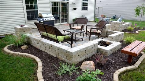 Paver stone patio ideas, patio ideas on a budget images