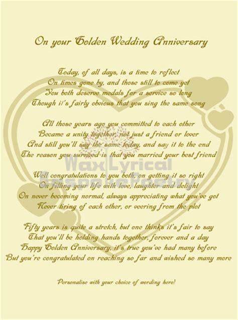 50th wedding anniversary quotes poems 50th wedding anniversary poems golden 50th wedding