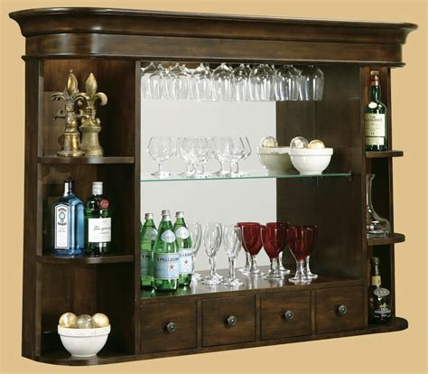 Wine Glass Cabinets Furniture by Espresso Wooden Flaoting Cabinet With Glass Selving Unit