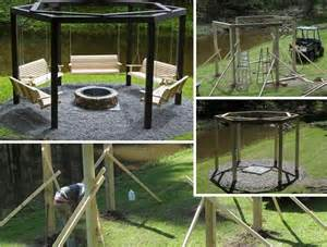 Swings Around Firepit Diy Archives Amazing Diy Interior Home Design