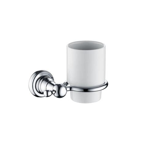 Bristan 1901 Tumbler Holder Brass Chrome Plated N2 Hold Chrome Plated Brass Bathroom Accessories