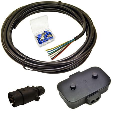 cost to rewire trailer lights trailer light electrics rewire kit plug junction box 5m