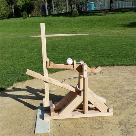 diy pit cing diy pitching machine softball pitching machine baseball stuff and softball drills