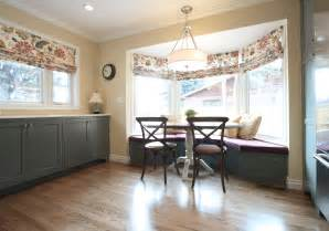 Bow Window Treatments Ideas whole house remodel in crestmoor park diane gordon design