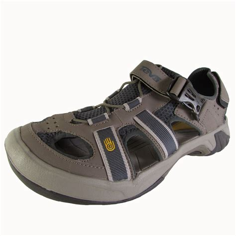 athletic toe shoes teva mens omnium closed toe athletic sandal shoes ebay