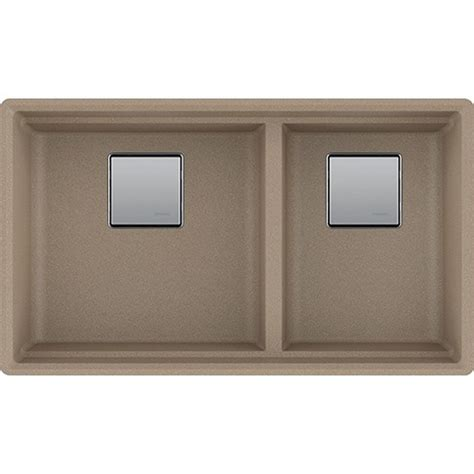 Franke Granite Kitchen Sinks Franke Pkg160oys Peak 32 Inch Undermount Bowl Granite Kitchen Sink In Oyster Franke Sink