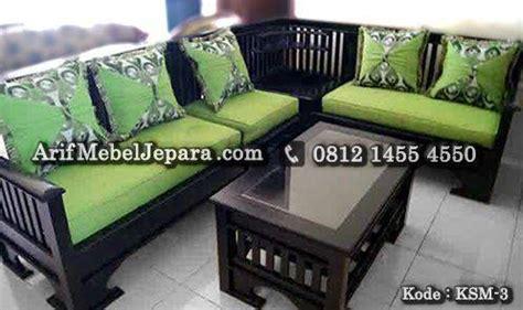 Sofa Sudut Di Bawah 1 Juta sofa kursi tamu sudut minimalis arif mebel jepara