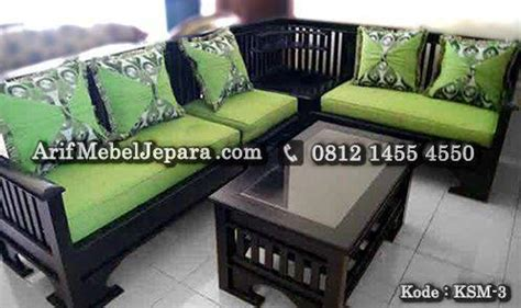 Sofa Sudut Di Blitar sofa kursi tamu sudut minimalis arif mebel jepara