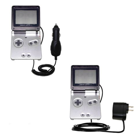 charge gameboy sp without charger gomadic car and wall charger essential kit suitable for
