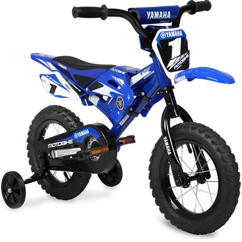 childs motocross bike 12 quot boys yamaha moto bmx bike sports bicycle kids