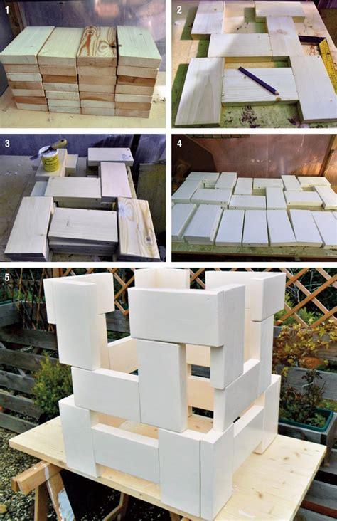 costruire un tavolo da giardino tavolo da salotto design bricoportale fai da te e bricolage