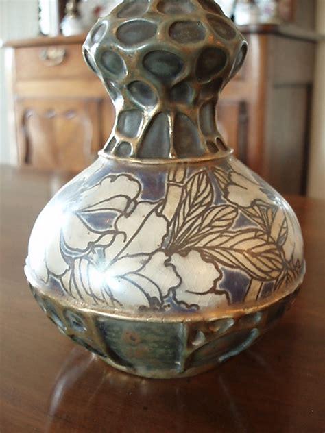 aa riessner stellmacher kessel amphora turn teplitz bohemia vase