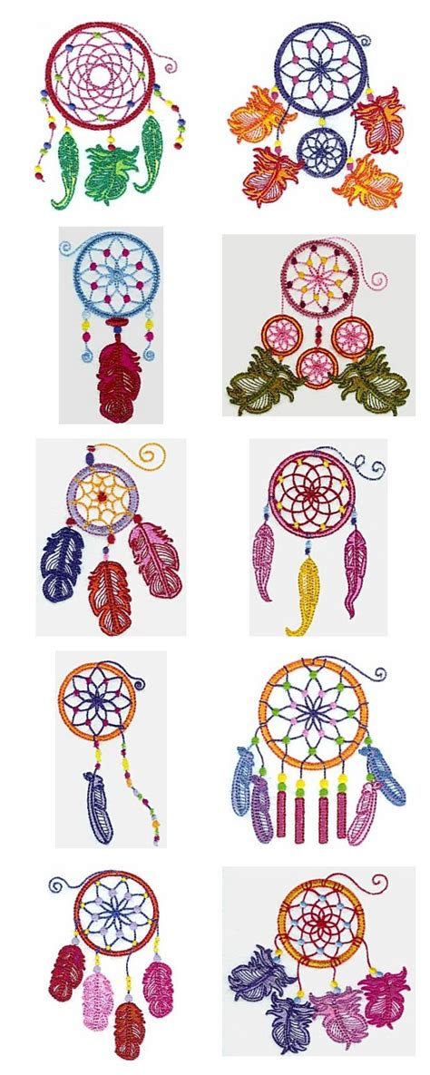 dreamcatcher embroidery design machine embroidery designs dream catcher set