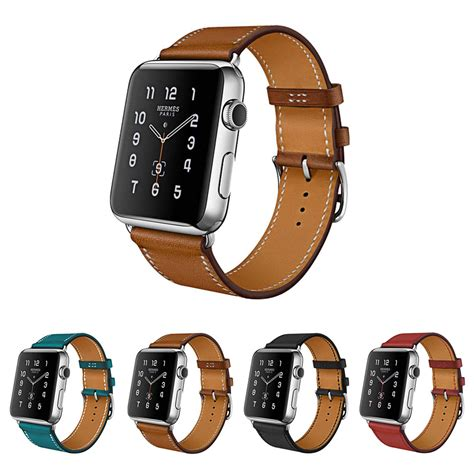 Printed Leather Band For Apple 38mm Flower Rural 7 rural flower genuine leather band iwatch for