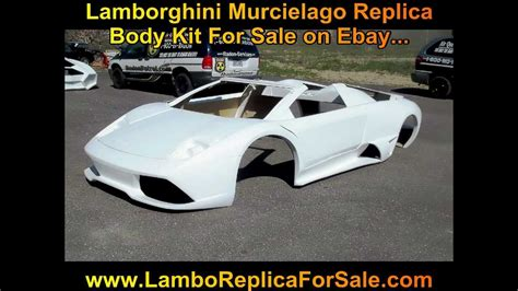 Lamborghini Murcielago LP640 Fiberglass Body Kit For Sale