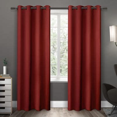 red curtains with grommets red curtain panels with grommets curtain menzilperde net