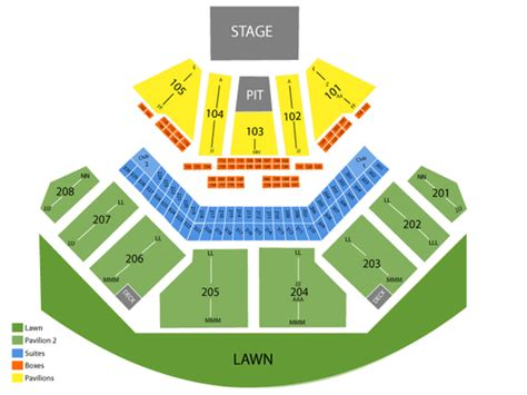 tinley park concert seating chart casino hitheatre il seating chart events