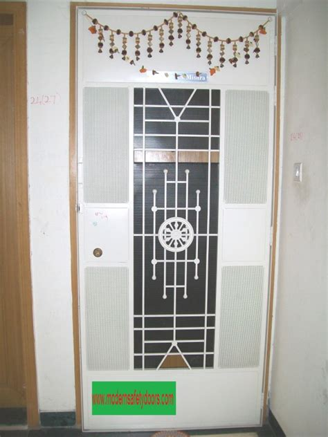 safety doors metal safety doors security doors grill metal safety doors manufacturer in pune safety doors in