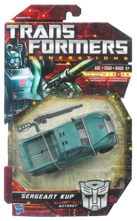 Transformers Deluxe Sergeant Cup transformers generations deluxe sergeant kup