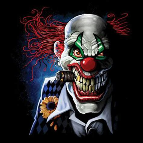 hoodie hooded sweatshirt scary smiling crazy clown