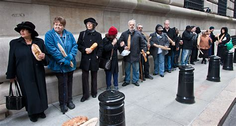 interact over 50 and out of work flashmobs4jobs today in manhattan over 50 and out of work