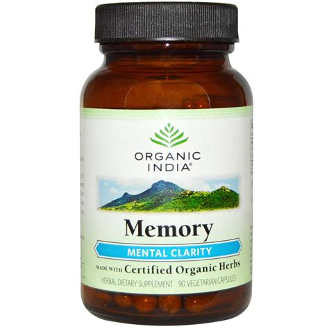 Organic India Liver Detox by Organic India Memory Mental Clarity 90 Vcapsules