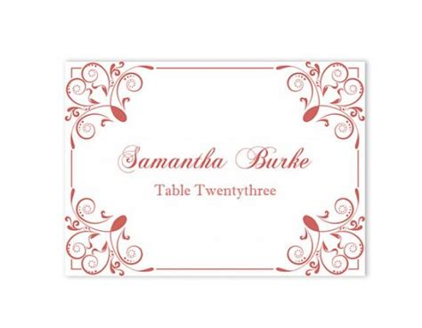 Blog Archives Savingsrutor Wedding Place Cards Template For Microsoft Word