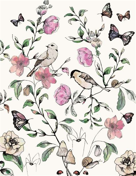 botanical print wallpaper 1000 ideas about print pattern design on pinterest