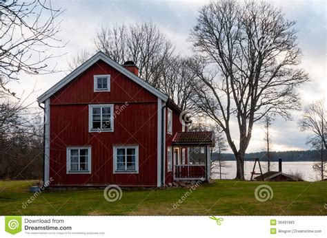 swedish farmhouse plans wooden farmhouse in sweden stock photos image 36491983