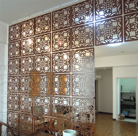 decorative partition walls aliexpress buy fashion hanging screen wood partition