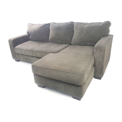 used chaise 50 off ashley furniture hodan sofa chaise sofas