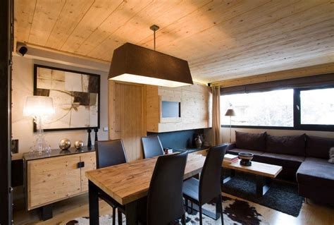Small Apartment With Natural Wood Elements   iDesignArch