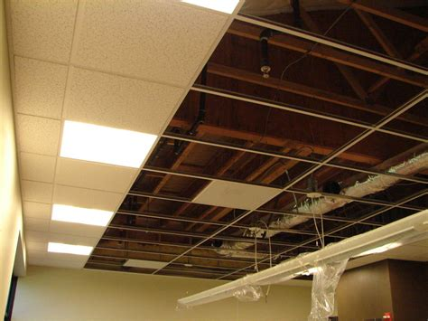 How To Drop Ceiling by Easy Basement Drop Ceilings Your Home
