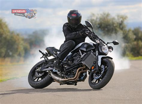 New Yamaha MT 07 skids into town   MCNews.com.au