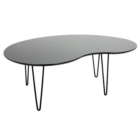 kidney shaped glass table top kidney shaped glass top coffee table writehookstudio com