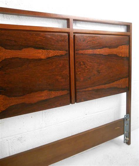 Rosewood Headboard by Mid Century Modern Rosewood King Size Headboard By Paul