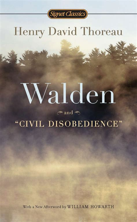 walden book cover poster thoreau civil disobedience quotes quotesgram